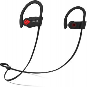 Bluetooth Headphones, Wireless Earbuds for Running