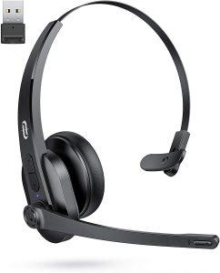 TaoTronics Bluetooth Headset with Microphone