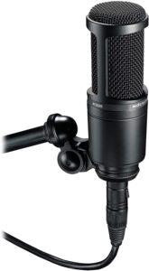 Audio technica AT2020 cardiod condenser