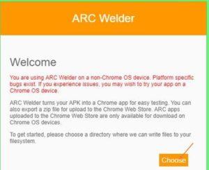 Choose by ARC weider