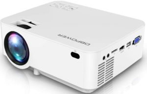 DBPOWER upgraded mini projector 176