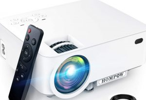 Mini Projector Hompow high brightness