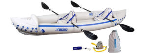 Sea-Eagle-370-Pro-3-Person-Inflatable-Portable-Sport-Kayak