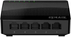 Tenda 5 Port Gigabit Ethernet Network Switch