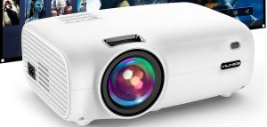 vilinice 6000L Video projector with projector screen